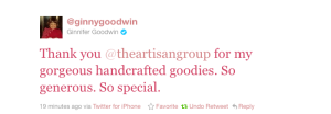 Ginnifer Goodwin tweet