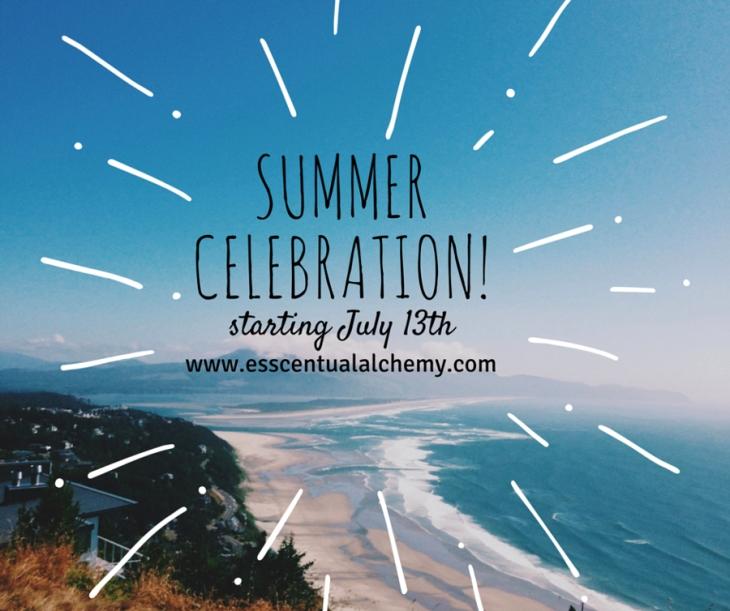 Esscentual Alchemy natural perfume summer celebration!